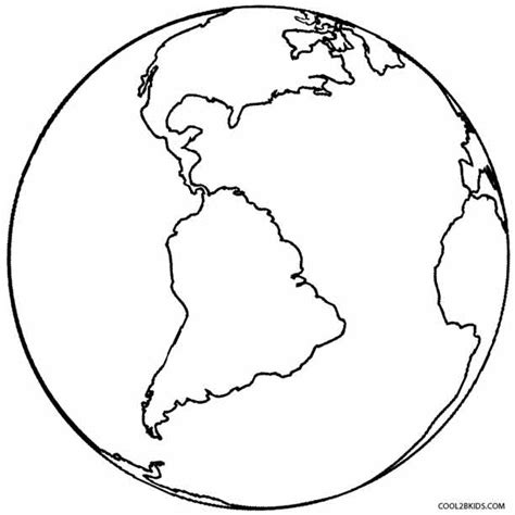 printable coloring page planet earth printable earth coloring pages for kids cool2bkids