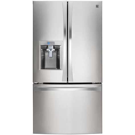 kenmore elite kitchen appliances kenmore elite 74023 29 8 cu ft french door fridge sears