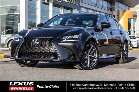 used lexus gs 350 awd used 2017 lexus gs 350 awd f sport s 201 rie 2 navigation in
