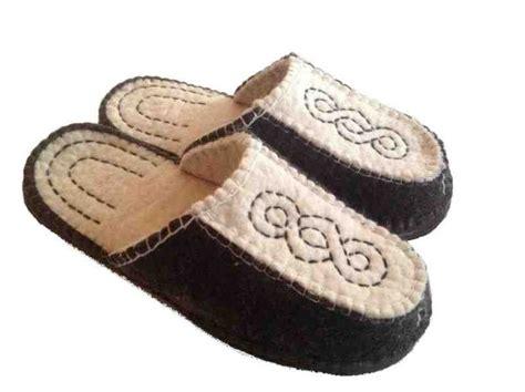 fair trade slippers 7 best mongolian wool felt slippers images on
