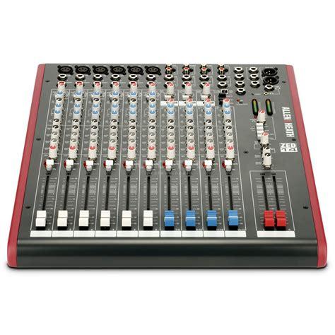 Allen Heath Mixer Live Zed12fx allen heath zed 14 live recording mixer