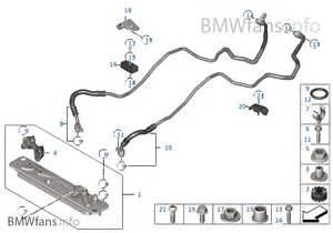 heat exch transmission cooler line bmw x5 e70 x5 3