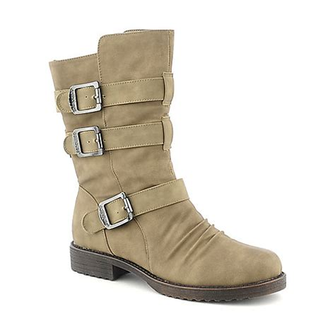 dollhouse boots dollhouse tough womens mid calf low heel boot