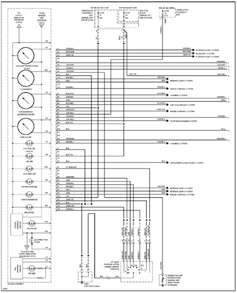 2005 honda civic cluster wiring diagram 28 images