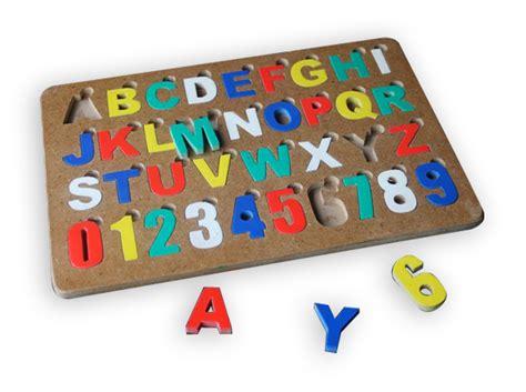 Mainan Kayu Edukatif Puzzle Angka Warna Jual Mainan Edukatif Mainan Dr Kayu Puzzle Alphabet