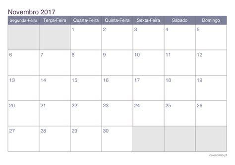 Calendã Novembro 2017 Imprimir Calendario 2016 Para Anotacoes Calendar Template 2016