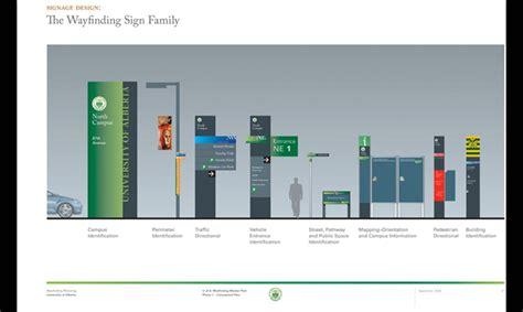 Home Plan Designers university of alberta wayfinding master plan segd