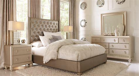 sofia vergara paris silver  pc queen upholstered bedroom queen bedroom sets colors