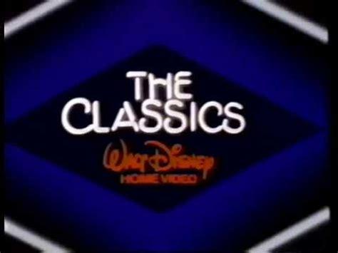 walt disney home the classics 1985 company logo