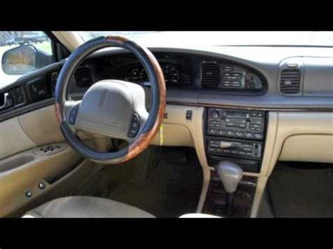 best auto repair manual 1997 lincoln continental instrument cluster 1997 lincoln continental black 3 995 youtube