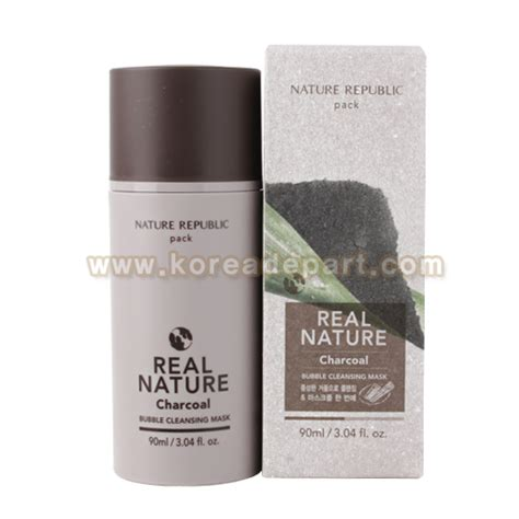 Nature Charcoal Detox by Nature Republic Real Nature Charcoal Cleansing Mask