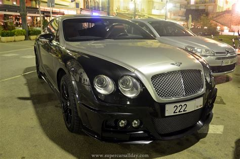 Bentley Wald Continental Gt Black Bison Supercars All