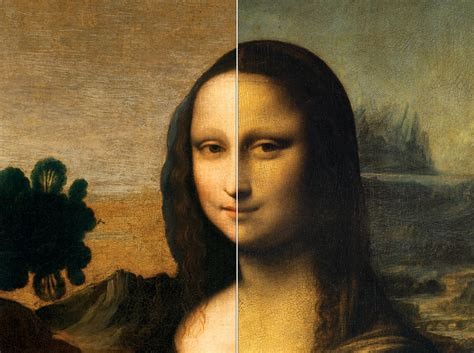 mona lisa the people compare the two mona lisas the mona lisa foundation