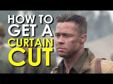 curtain cut brad pitt how to get a curtain cut undercut haircut art of