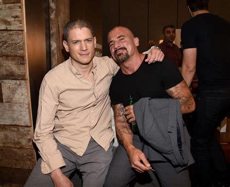 prison break star wentworth miller shuts down fat shaming prison break season 5 dominic purcell takes credit for