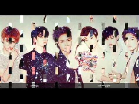 live wallpaper of exo exo k 2014 live wallpaper android application youtube