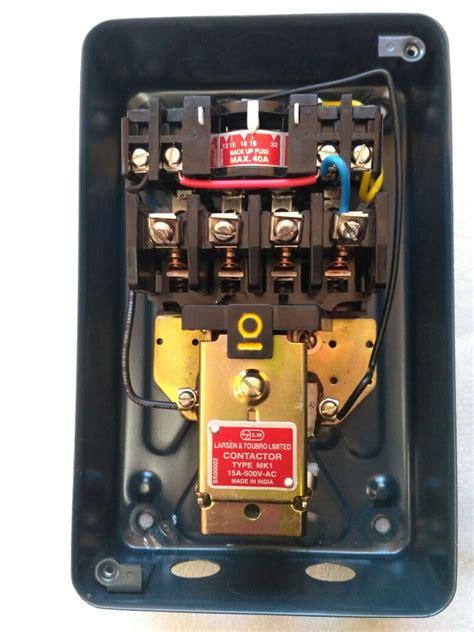 l t dol starter circuit diagram wiring diagram manual
