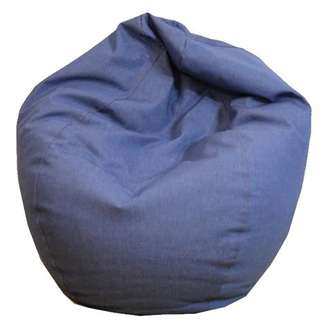 Bean Bag Chair by Durable Denim Bean Bag Chairs Thebeanbagchairoutlet