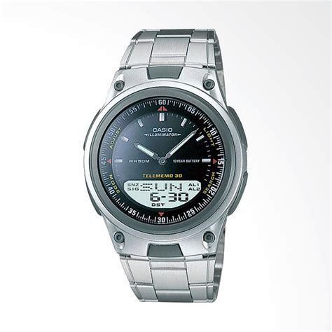 Jam Tangan Pria Casio Aw 80d 1a jual casio digital analog jam tangan pria abu abu hitam