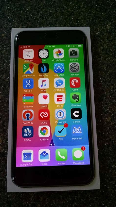 apple iphone 6 plus t mobile for sale dwy382 735 gt swappa