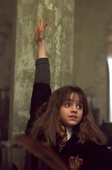 hermione granger in the 1st movoe literary girls hermione granger the harry potter series