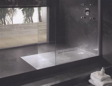 Concrete Shower Walls by Finer Surfaces Polished Concrete Micro Topping