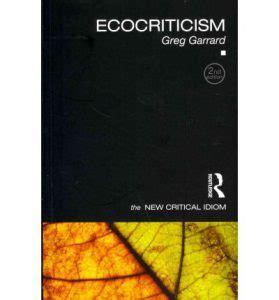 Material Ecocriticism ecocriticism 2012 nature in children s literature