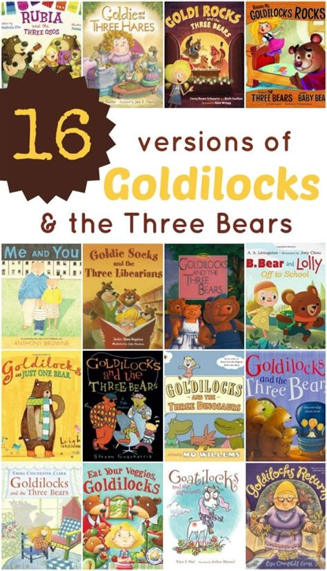 Goldilocks And The Three Bears Clever Book 485 best images about book lists for children on