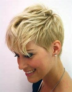 short cut for 70 short hairstyle pixie with blonde highlights andrea osvart