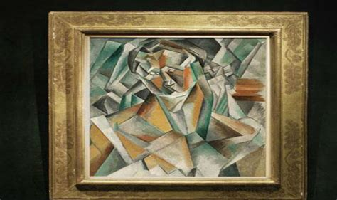 picasso paintings highest price picasso cubist painting sold for usd 63 4 million sets