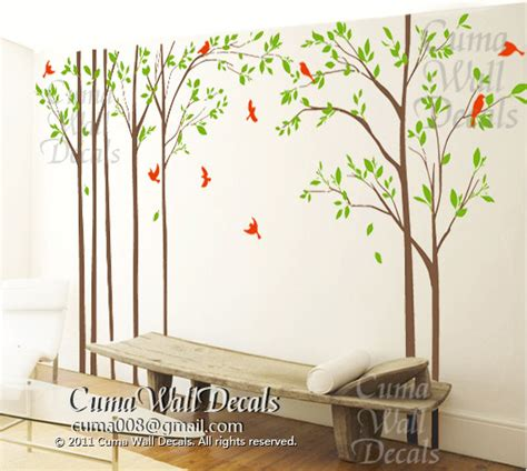 Bird Wall Decals For Nursery Tree Wall Decal Birds Wall Decals Office Cuma Wall Decals