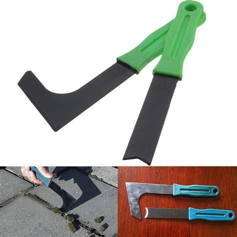 patio weeder tool set weeding moss remover trim