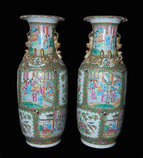 Vases On Sale by Pair Of Medallion Vases For Sale Antiques