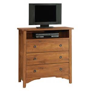 highboy tv stands sauder valley highboy tv stand oak at hayneedle