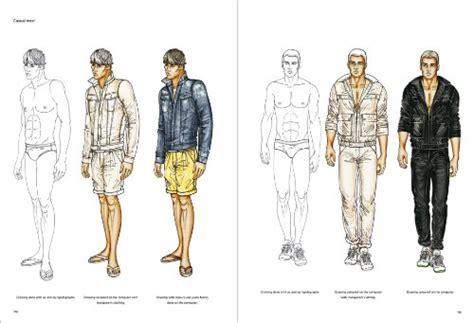 fashion design for man figure drawing for mens fashion pepin press design books