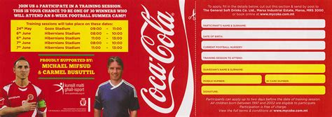 coca cola cup flyer application form knowhowsoccer