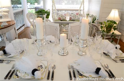 elegant table elegant candlelit summer tablescape table setting