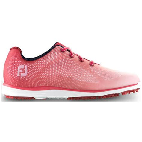 footjoy empower ladies golf shoes redpink discount prices  golf equipment