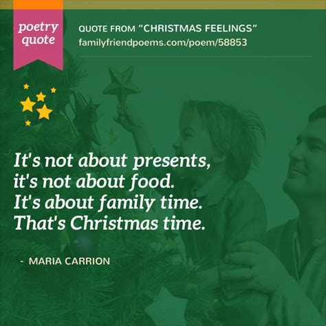 christmas rhyme quote poem about with family feelings