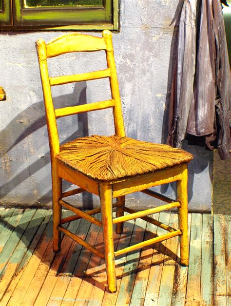 Painting A Chair by Gogh S Chair A Handshake In Thought