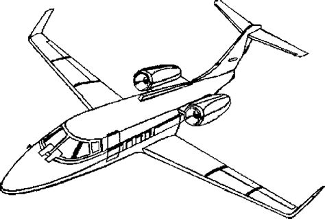 private jet coloring pages private plane coloring pages for kids