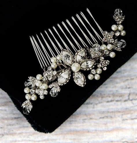 Vintage Style Wedding Hair Combs by Vintage Style Pearl And Hair Comb Pearl Bridal