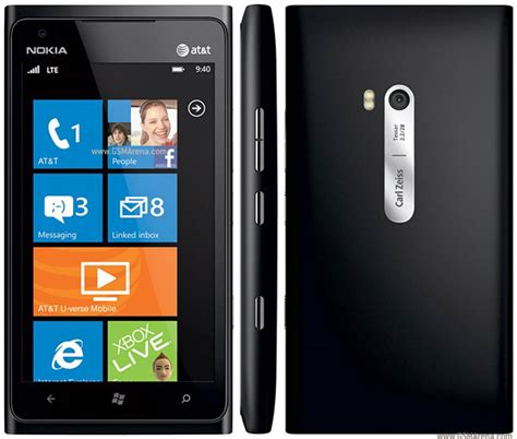 Nokia Lumia 900 AT&T pictures, official photos