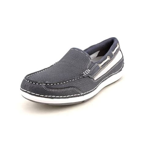 rockport s shoal lake slipon leather casual shoes wide size 13 16361435 overstock