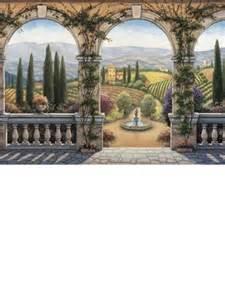 environmental graphics wall murals environmental graphics c828 13 5apos tuscan villa wall