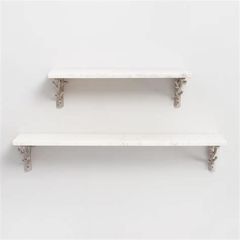 regal wand marble mix match wall shelf collection world market