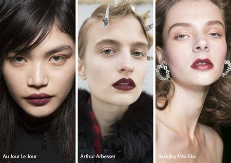 Fall Makeup Trends The Lip by Fall Winter 2017 2018 Makeup Trends Glowsly
