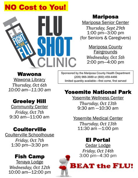 Flu Clinic by Mariposa County Health Department Comments On Flu Vaccine