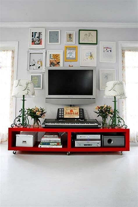 Decorate Wall Tv by 30 Ways To Decorate The Tv Wall Bored