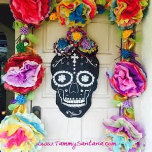 Dia De Los Muertos Home Decor Tammysantana Dia De Los Muertos Crafty Hop